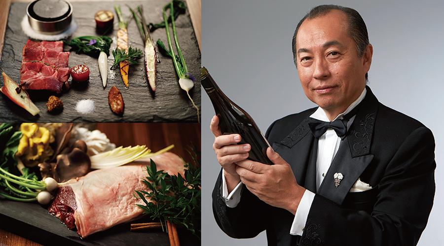 第18回 田崎真也のワイントーク&ディナー 究極食材 「夏ジビエ」と田崎真也が選ぶワインとのマリアージュ