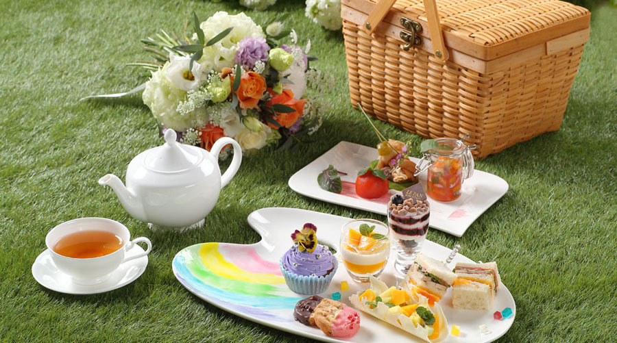 【ご好評につき期間延長中!】Palette × Picnic Afternoon Tea ~HAIKARA~