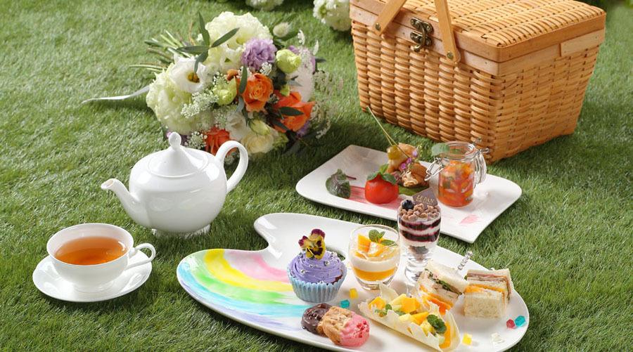 【ご好評につき期間延長中!】Palette × Picnic Afternoon Tea ~HAIKARA~イメージ画像